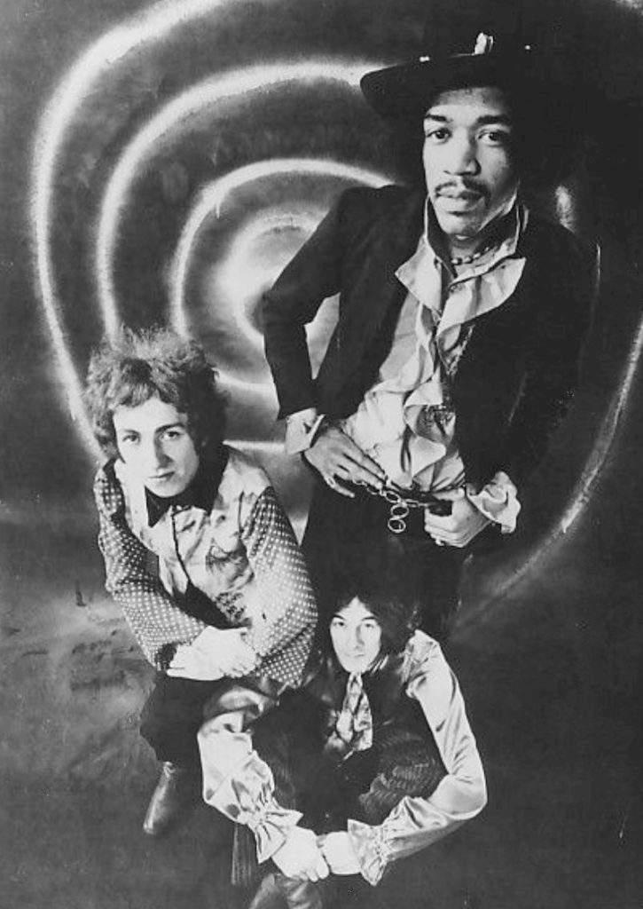 The Jimi Hendrix Experience - Jimi Hendrix, Noel Redding, Mitch Mitchell