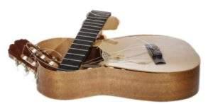 Broken Guitar quit guitar