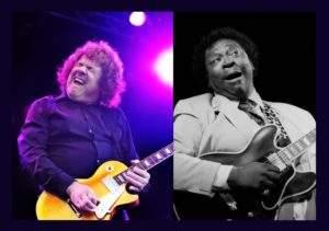 Guitar masters Gary Moore and BB King