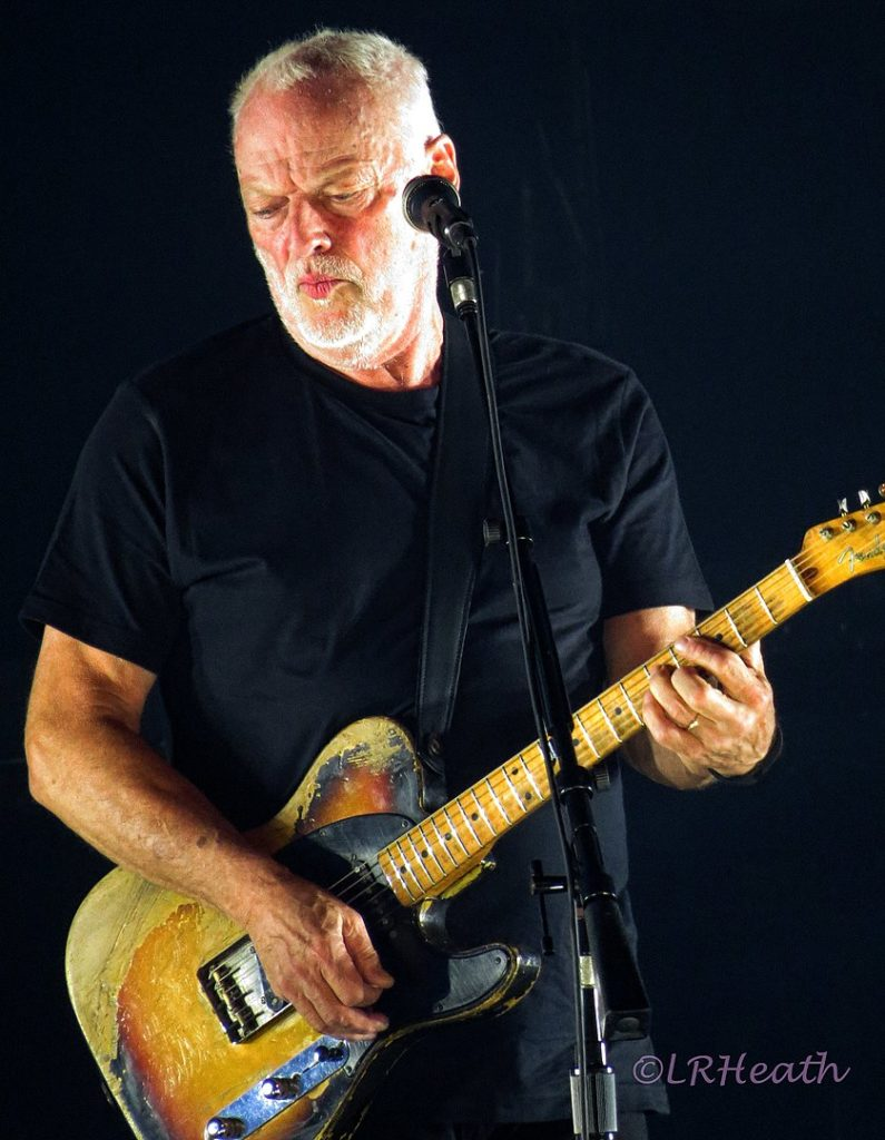 David Gilmour from Pink Floyd